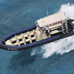 ARMSTRONG Nautical Brackets on a RIB